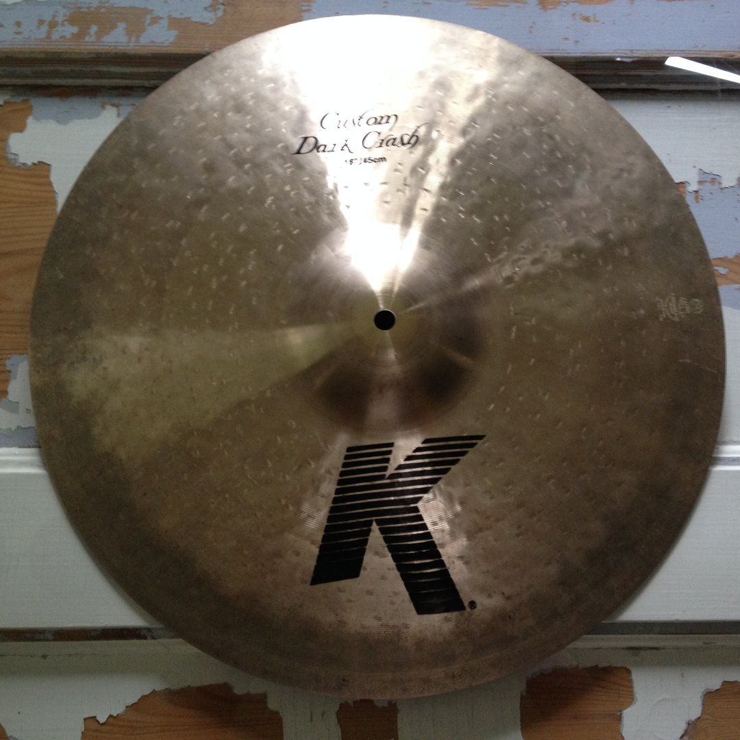18 zildjian k custom dark crash. Black Bedroom Furniture Sets. Home Design Ideas