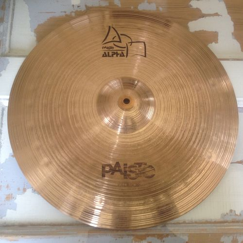 "20"" Paiste Alpha power ride"