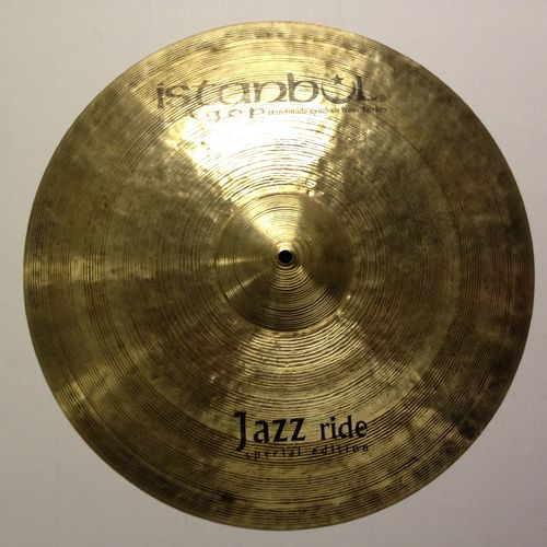 "20"" Istanbul Agop special Jazz ride"
