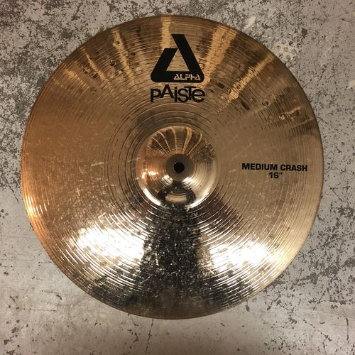 "16"" Paiste Alpha medium crash"