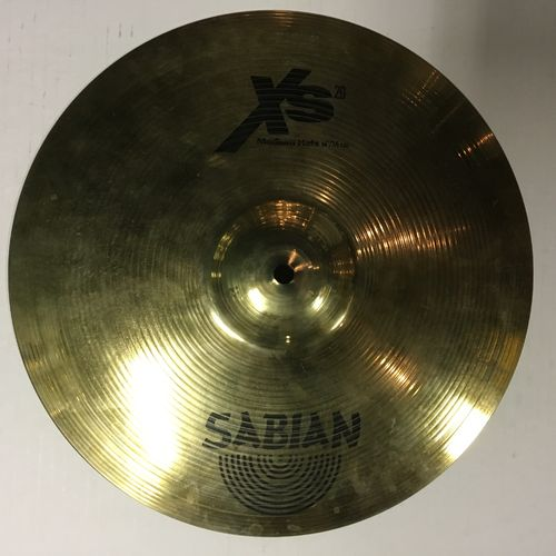 "14"" Sabian XS 20 medium hi hats"