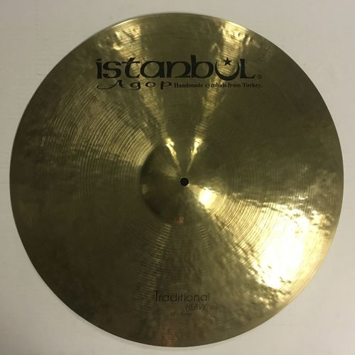 "22"" Istanbul Agop traditional heavy ride"