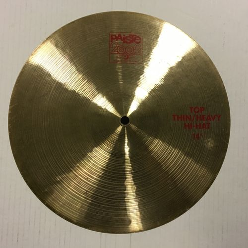 "14"" Paiste 2002 thin / heavy hi hats"