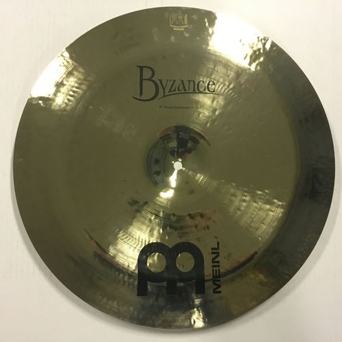 "18"" Meinl Byzance heavy hammered china"