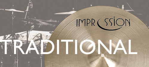 Impression traditional hi-hats