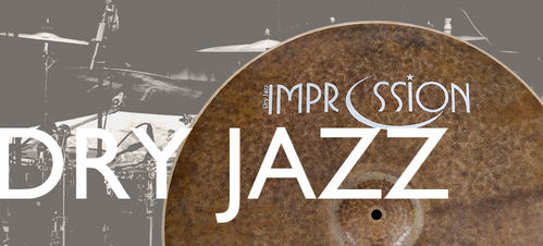 Impression dry Jazz hi-hats