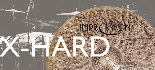 Impression X-hard hi-hats