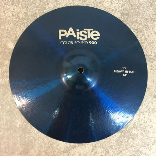 "14"" Paiste color sound heavy hi-hats"
