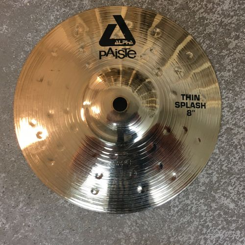 "8"" Paiste Alpha thin splash"