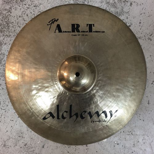 "18"" Alchemy pro art crash"