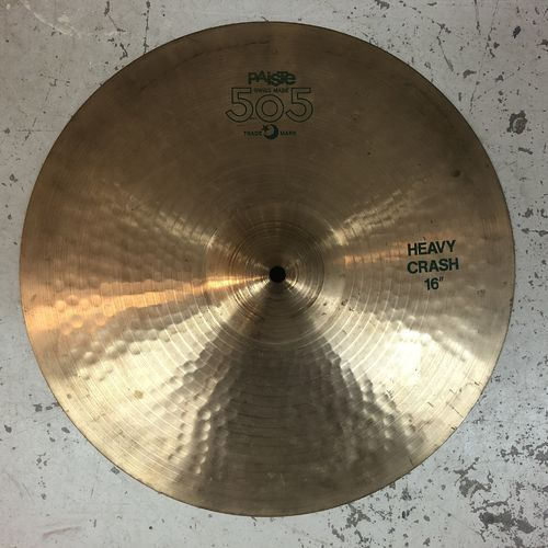 "16"" Paiste 505 heavy crash"