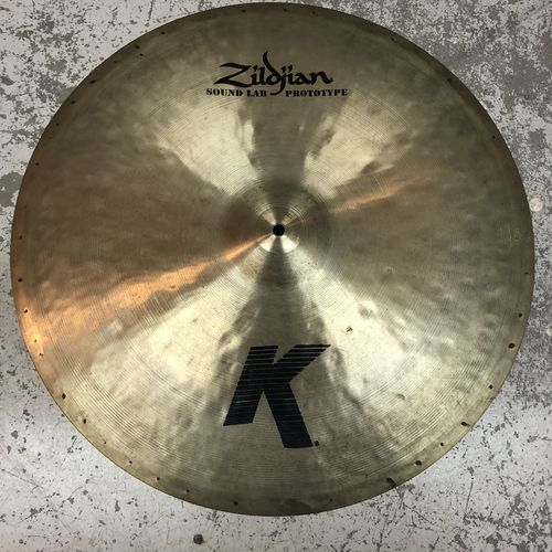 "24"" Zildjian K sound lab prototype ride"