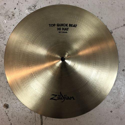 "14"" Zildjian quick beat hi-hats"