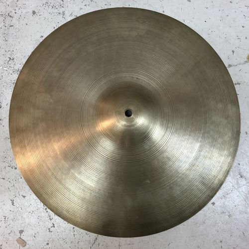 "18"" Vintage Zildjian crash/ ride- 1960s?"