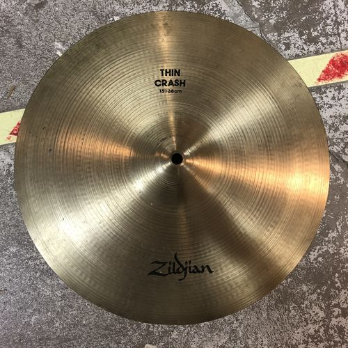 "15"" Zildjian A thin crash"